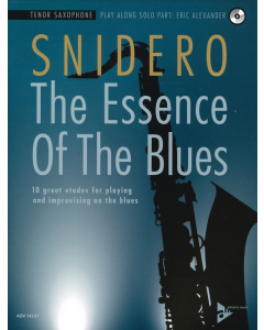 Jim Snidero: The Essence Of The Blues - TENOR SAXOPHONE