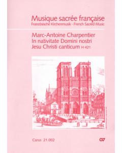 Charpentier, Marc-Antoine: In nativitate Domini nostri Jesu Christi canticum (Soli SSA, Coro SSA, Basso Continuo) - SCORE