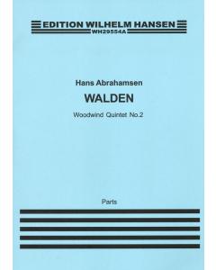Abrahamsen, Hans: Walden - Woodwind Quintet no. 2 (Set of Parts)