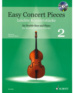 Easy Concert Pieces for Double Bass and Piano Vol. 2