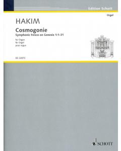 Hakim, Naji: Cosmogonie for Organ