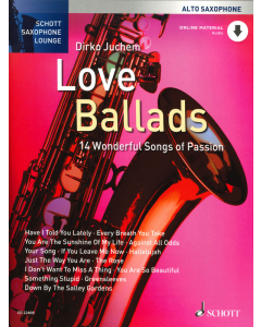 Love Ballads for Alto Saxophone (incl. Online Material)