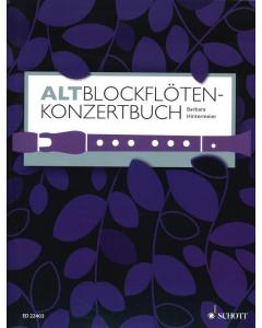Altblockflöten-Konzertbuch - 60 Stücke aus 5 Jahrhunderten (Treble Recorder, Piano)