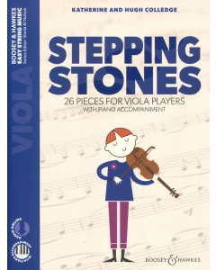Stepping Stones - 26 Pieces for Viola Players with Piano Accompaniment (incl. Online Audio)
