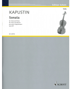 Kapustin: Sonata for Viola and Piano, op. 69