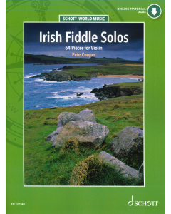 Irish Fiddle Solos - 64 Pieces for Violin (incl. Online Material)