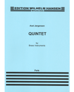 Jørgensen, Axel: Quintet for Brass Instruments (Set of Parts)