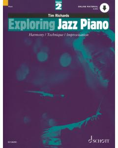 Exploring Jazz Piano (Vol. 2) (incl. Online Audio)