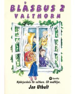 Blåsbus 2 - Valthorn (incl. CD)