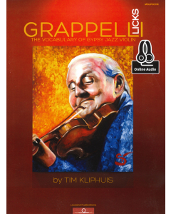 Grappelli Licks - The Vocabulary of Gypsy Jazz Violin - incl. Online Audio (by Tim Kliphuis)