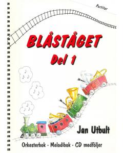 Blåståget Del 1 - Partitur (inkl. CD)