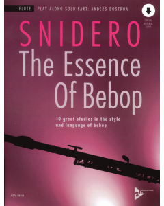 Jim Snidero: The Essence of Bebop - FLUTE (incl. Online Audio)