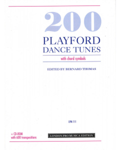 200 Playford Dance Tunes (with chord symbols)