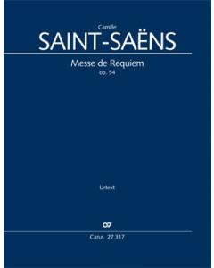 Saint-Saëns: Messe de Requiem, op. 54 (Vocal Score)