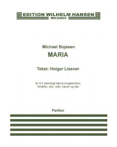 Bojesen Maria Partitur