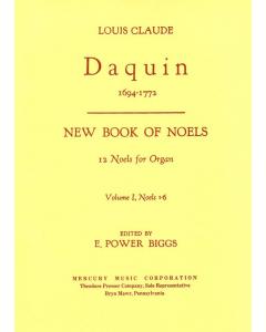 Daquin: New Book of Noels - 12 Noels for Organ (Volume I, Noels 1-6)