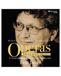 Mozart: Operas - The Da Ponte Trilogy (René Jacobs) (9CD-BOX)