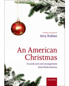 An American Christmas - 16 carols and carol arrangements from North America (SATB)