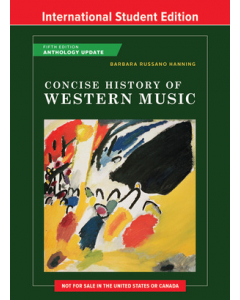 Concise History of Western Music - Fifth International Student Edition, Anthology Update