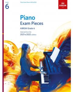 ABRSM Piano Exam Pieces 2021-2022 (Grade 6)
