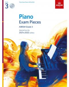 ABRSM Piano Exam Pieces 2021 & 2022 (Book with CD) (Grade 3)