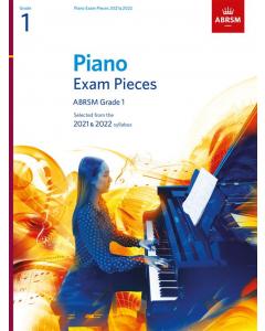 ABRSM Piano Exam Pieces 2021-2022 (Grade 1)