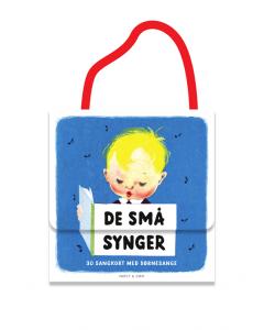 De små synger - 30 sangkort med børnesange