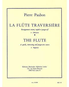 Paubon, Pierre: La Flûte traversiere (Vol.1)