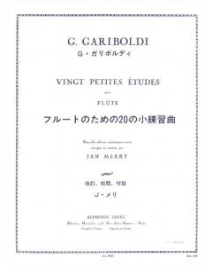 Gariboldi, G.: Vingt Petites Études, op. 132 (Flute)