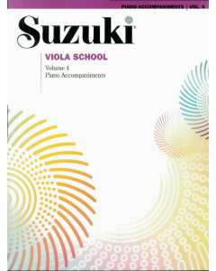 Suzuki Viola School (Piano Acc., Vol. 4)