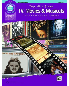 Top Hits from TV, Movies & Musicals - Instrumental Solos (Alto Saxophone incl. CD)
