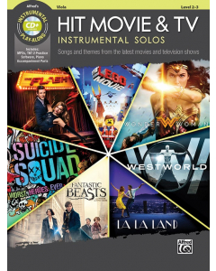 Hit Movie & TV - Instrumental Solos (Viola incl. CD)