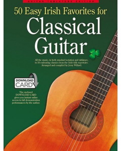 50 Easy Irish Favorites for Classical Guitar