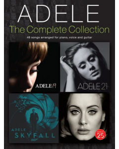 Adele: The Complete Collection (Piano / Voice / Guitar)