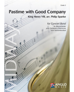Pastime with Good Company - arr. Philip Sparke for Concert Band (Score and Parts)