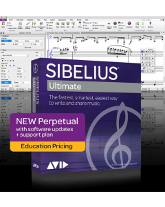 Sibelius Ultimate Academic Edition - med Annual Upgrade Plan