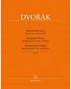 Dvorák, Antonín: Romantic Pieces, op. 75 (Arrangement for Viola and Piano)