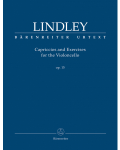 Lindley, Robert: Capriccios and Exercises for the Violoncello, op. 15