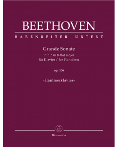"Beethoven: Grande Sonate in B für Klavier / Grande Sonate in B-flat major, op. 106 ""Hammerklavier"""