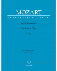 Mozart, W. A.: The Magic Flute / Die Zauberflöte KV 620 (Vocal Score) HARDBACK