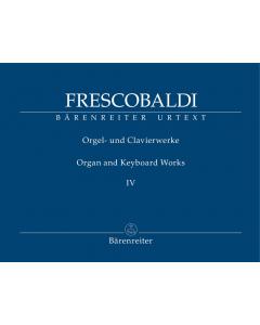 Frescobaldi: Organ and Keyboard Works (Vol. IV: Fiori musicali)