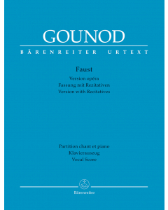 Gounod, Charles: Faust (Version with recitatives) (Vocal Score)