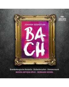 BACH - Musica Antiqua Köln, Reinhard Goebel (12CD-BOX)
