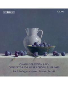 Bach, J.S.: Concertos for Harpsichord & Strings - Volume 1 (Bach Collegium Japan, Masato Suzuki) (CD)