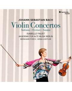 Bach: Violin Concertos, Sinfonias, Overture, Sonatas (Isabelle Faust, Akademie für Alte Musik Berlin) (2CD)
