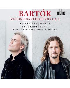 Bartók: Violin Concertos Nos. 1 & 2 (Christian Tetzlaff; Finnish Radio Symphony Orchestra) (CD)