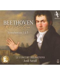 Beethoven: Symphonies Nos. 1-5 (Le Concert des Nations, Jordi Savall) (3CD)
