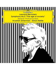 "Bernstein, Leonard: Symphony No. 2 ""The age of anxiety"" (Berliner Philharmoniker, Simon Rattle, Krystian Zimerman) (CD)"
