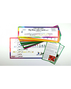 Big Blue Jello Cards - Set 1 (Music Mind Games)