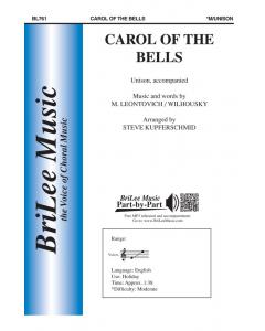 Carol of the Bells (Unison, Piano)